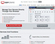 ISPConfig - Free Web Hosting Control Panel