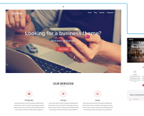 Sydney - Free Responsive Business Wordpress Theme