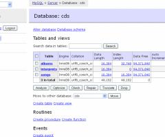 Adminer - PHP Based Database Manager