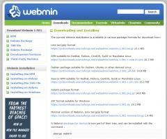Webmin - Free Server Administration Software