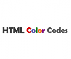 HTML Color Codes - Tools for HTML Color Codes