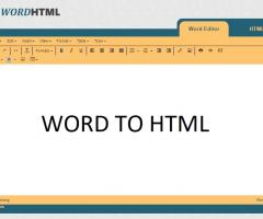 Word Document to HTML Online Converter