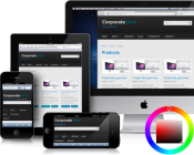 Corporate Clean - Free Responsive Drupal Theme